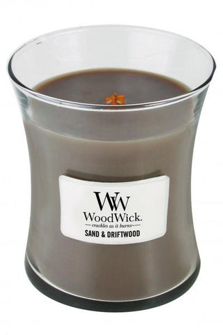 WoodWick Medium - Sand & Driftwood