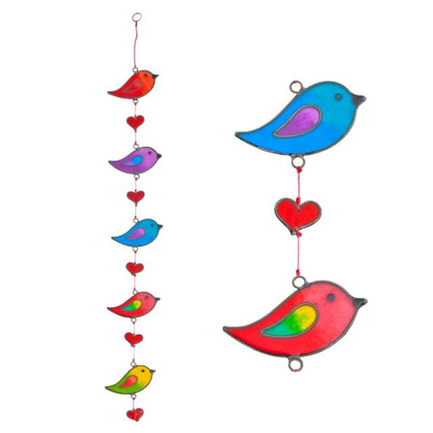 String of Bird Sun Catcher
