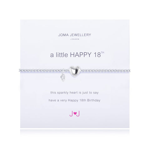 A Little 'Happy 18th' Bracelet