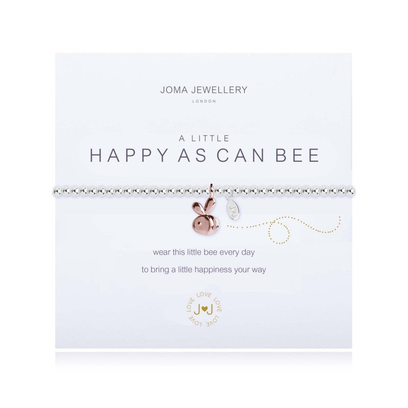 a Little 'Happy as Can Bee' Bracelet