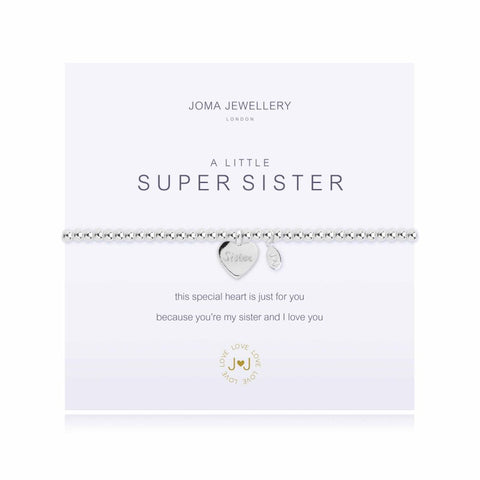 a Little 'Super Sister' Bracelet