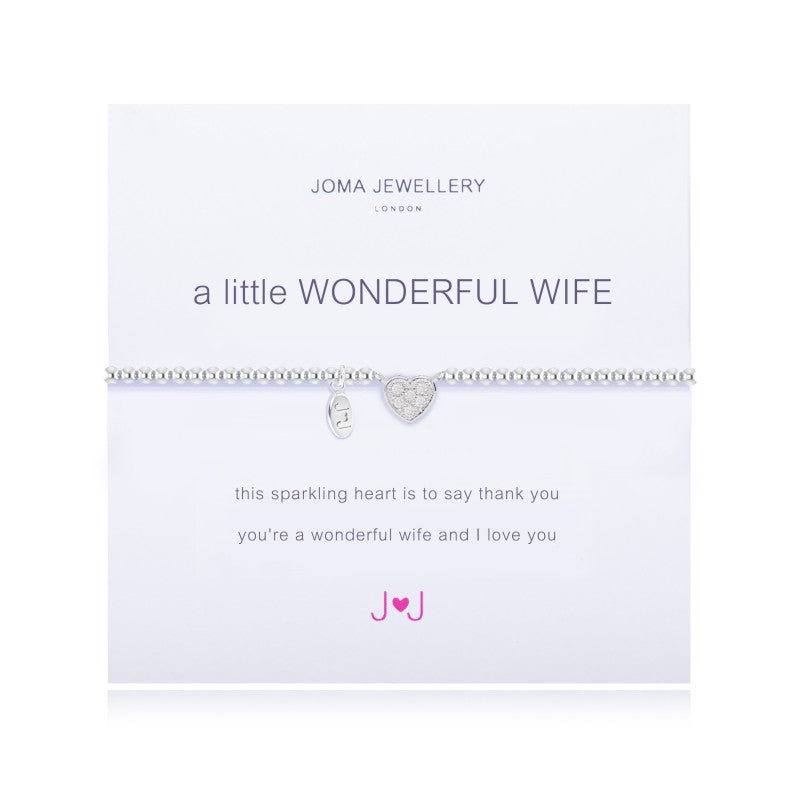 a Little 'Wonderful Wife' Bracelet