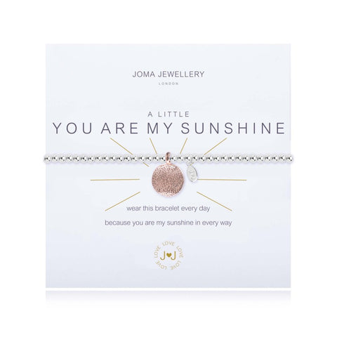 a Little 'You are My Sunshine' Bracelet