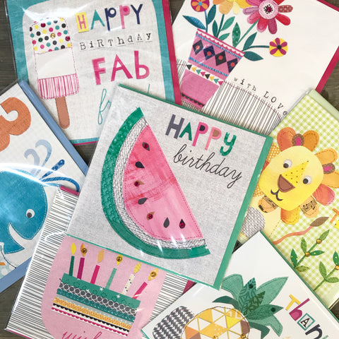 Birthday 'Emergency Bumper Pack' - Mixed Pack of 6 Cards
