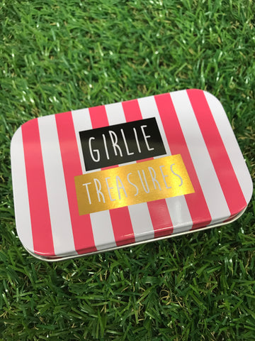 Girlie Treasures Mini Tin