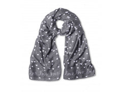 Sentiment Scarf - Love Love Love