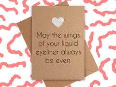 Card: Eyeliner Dreams