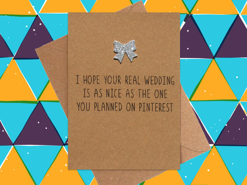 Card: Pinterest Wedding
