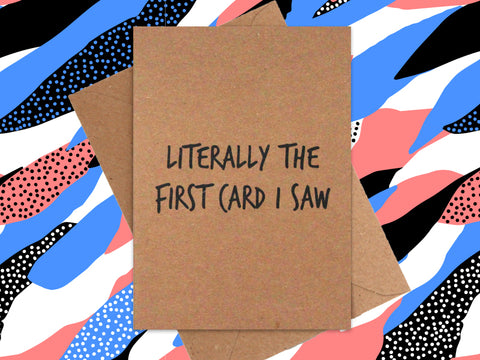 Card: The First Card