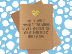 Card: Happiest Wedding Moment