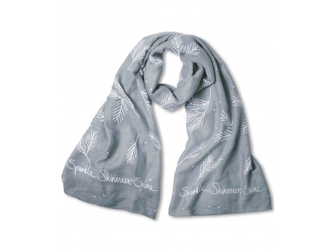 Sentiment Scarf - Sparkle, Shimmer, Shine