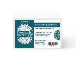 Kombucha Recipe Kit - Raspberry with Green Tea