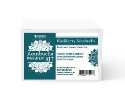 Kombucha Recipe Kit - Blackberry with Black Tea