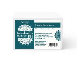 Kombucha Recipe Kit - Hemp with Green Tea