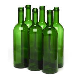 Wine Bottles, 750 ml Cork Finish