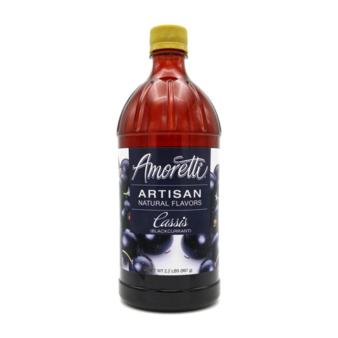 Black Currant (cassis) flavoring (Amoretti)