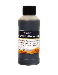 Natural Butterscotch Flavoring, 4 oz.