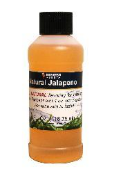 Natural Jalapeno Flavoring, 4 oz.