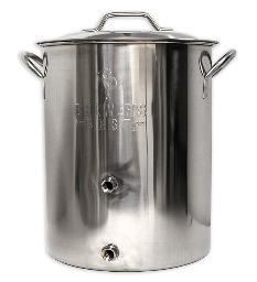 Stainless Kettle, 16 gal., Two Ports