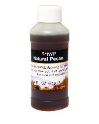 Natural Pecan Flavoring Extract, 4 oz.