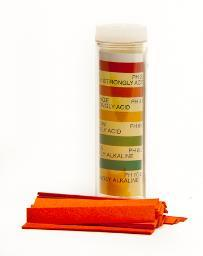 pH test strips, 2 - 10