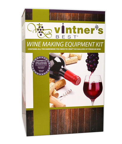 Wine Equipment Kit, 6 Gallon