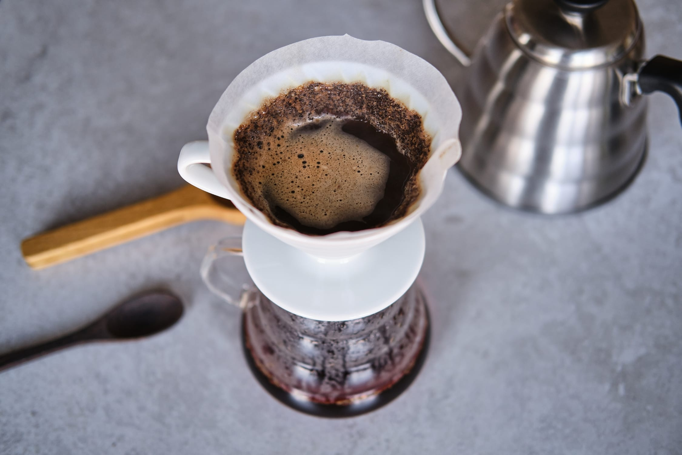 How to brew a pour over