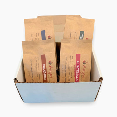 specialty coffee sample box