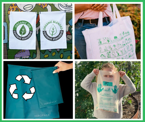 Expressions Australia   Eco-friendly practices image, compostable bags
