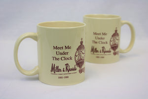 Miller & Rhoads Mug - Meet Me Under the Clock