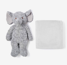 Load image into Gallery viewer, Gray Elephant Bedtime Huggie