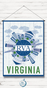 RVA Skyline Flag