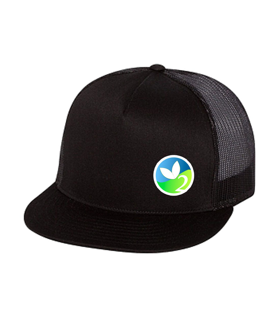 Full Color Logo Meshback Snapback