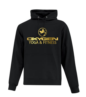 Gold Oxygen Yoga Pullover