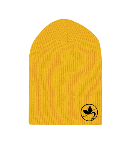 Circle Logo Long Length Beanie