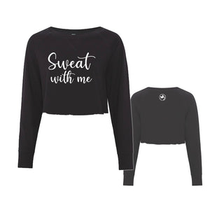 Sweat With Me Cropped Crewneck