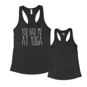 You had me at Yoga Racerback