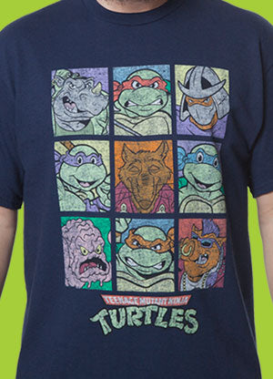 Characters TMNT Shirt