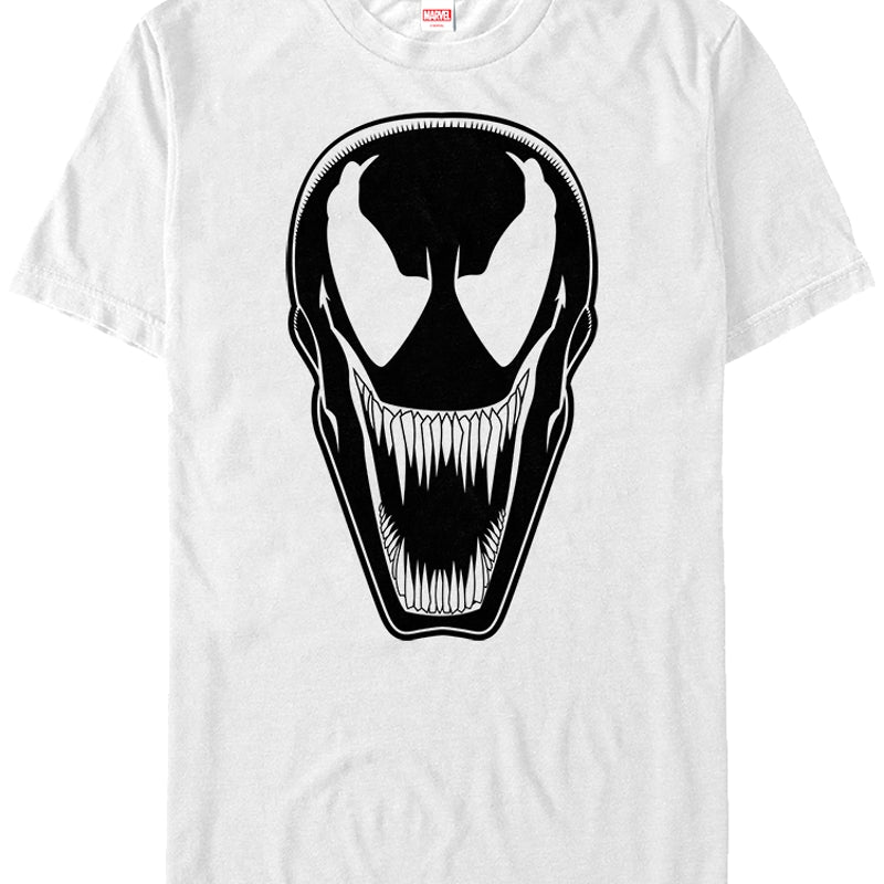 2d916a4c3d0c White Venom T-Shirt: Marvel Mens T-Shirt
