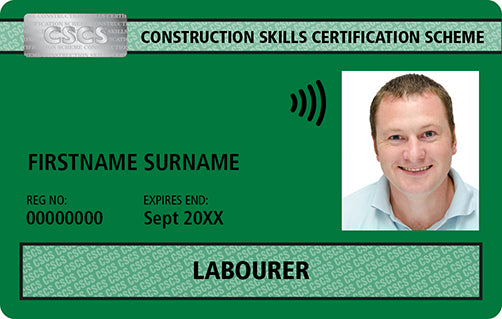 How to Apply for a CSCS Green card (Construction Site Labourers)
