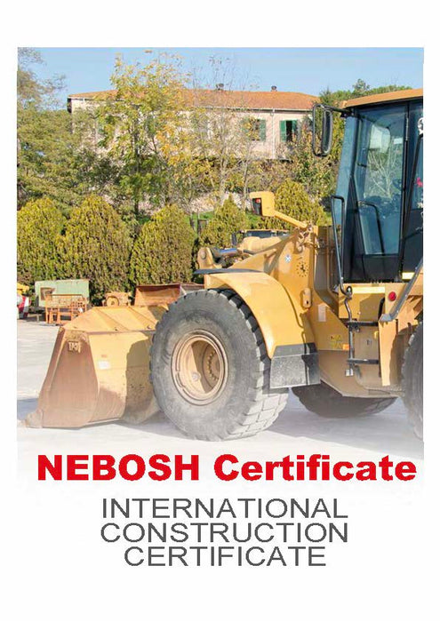 NEBOSH International Construction Certificate (165 Hours Online)