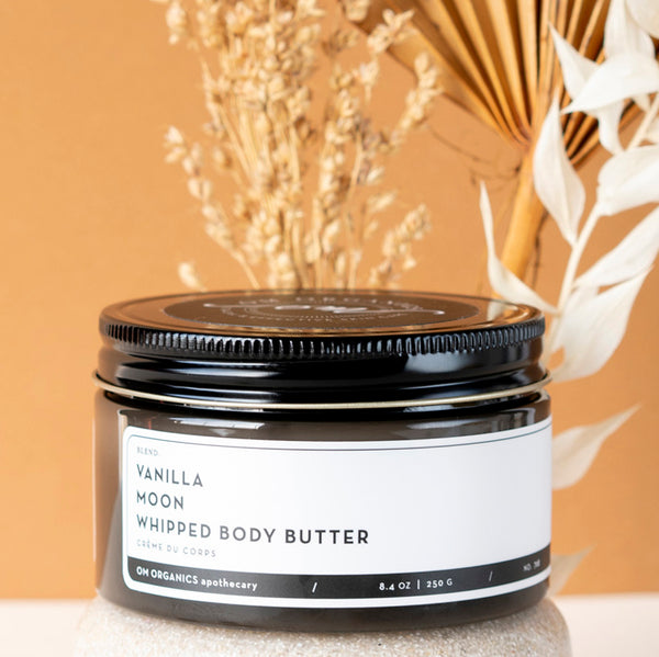 OM Organics Vanilla Moon Whipped Body Butter