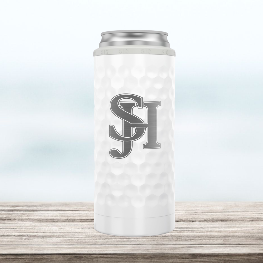 SJHHS (Logo Only) - Slim Can Cooler