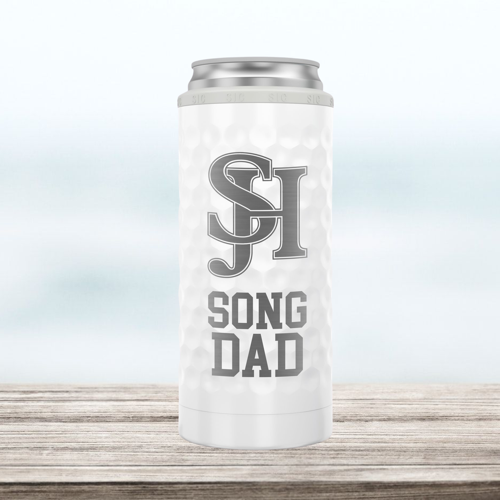 "SJHHS ""Song Dad"" - Slim Can Cooler"
