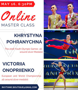 Masterclass Video with RG Team Ukraine members: Khrystyna Pohranychna and Victoriia Onopriienko