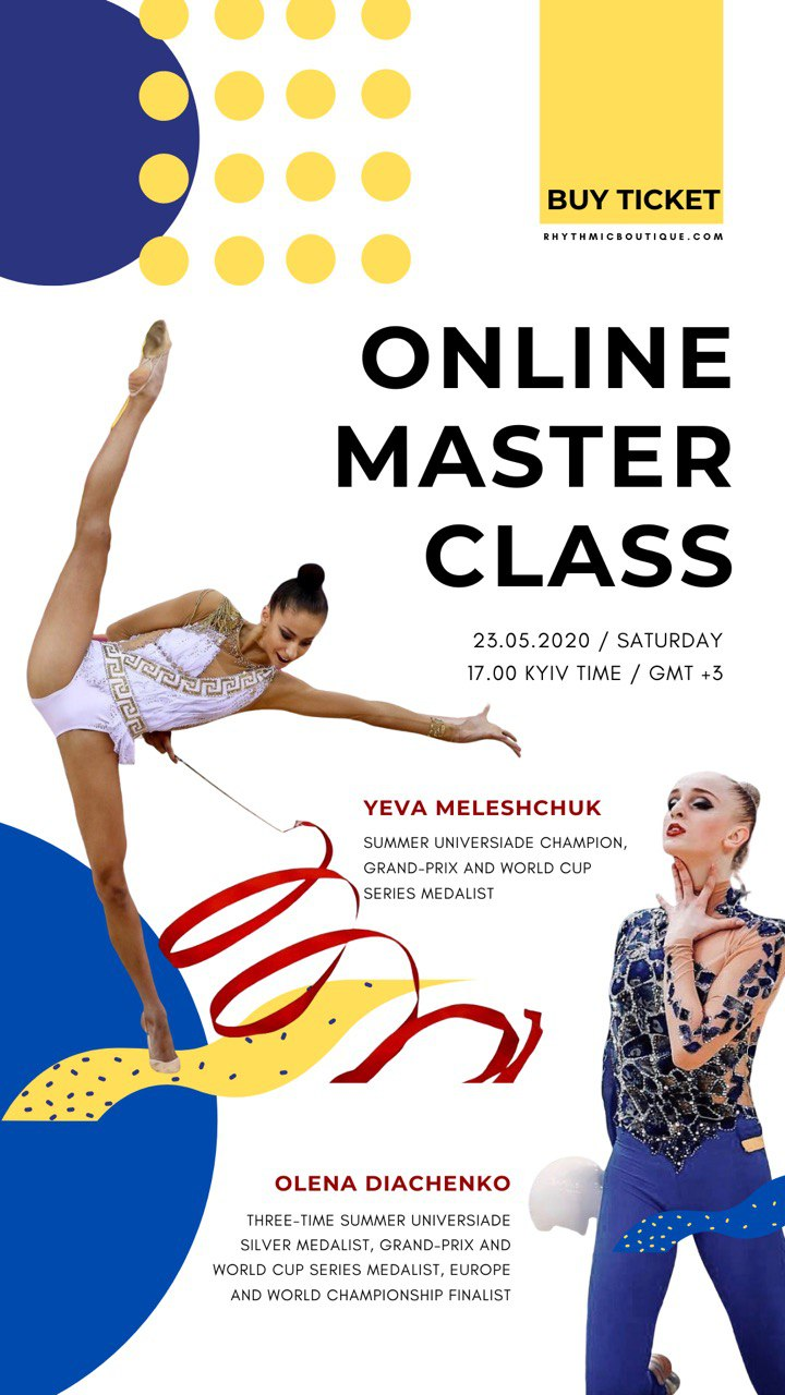 Masterclass Video with RG Team Ukraine members: Olena Diachenko and Yeva Meleshchuk