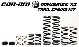 "CAN-AM MAVERICK X3 X RS ""TRAIL"" SPRING KIT (2017-2020)"