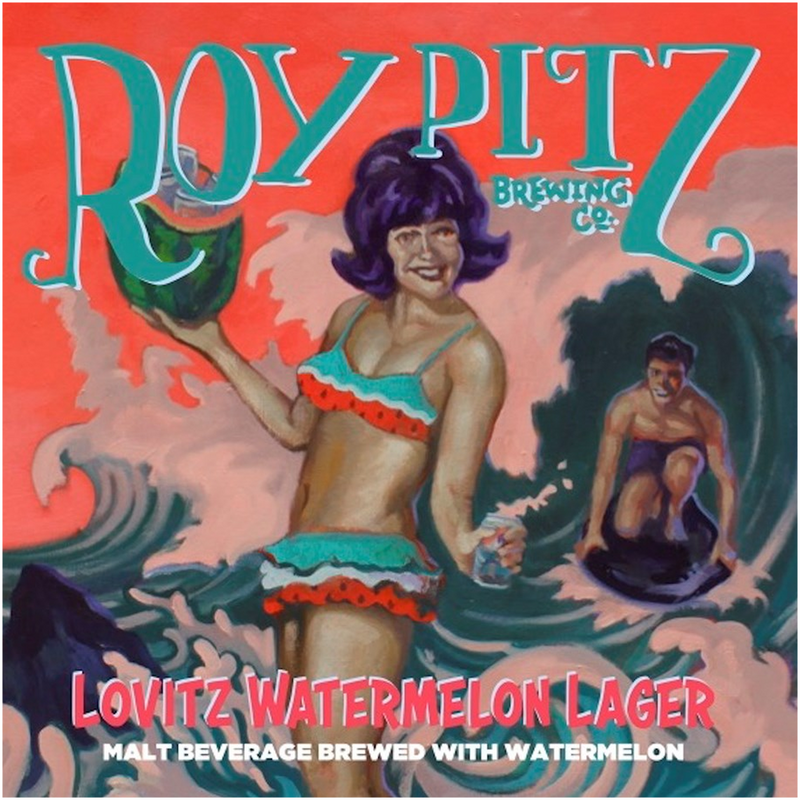 Lovits Watermelon Lager - Canvas Posters