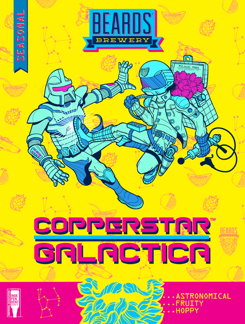 Copperstar Galactica - Wall Poster