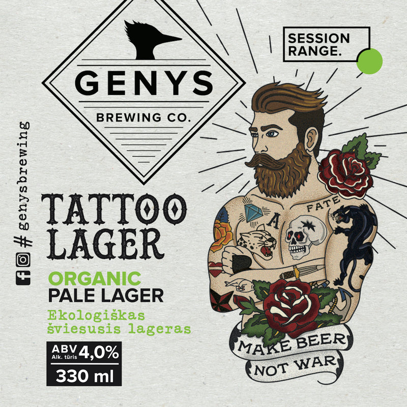 Tattoo Lager - Wall Poster